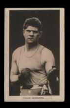 Boxing trade cards  famous boxers Frank Goddard  #700